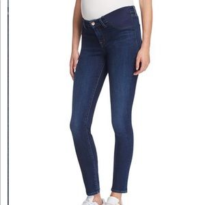 J brand low rise skinny maternity jeans